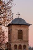 Bucarest, Romania - 4 gennaio: Chiesa metropolitana Fotografia Stock