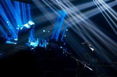 BUCAREST, ROMANIA - 30 NOVEMBRE 2014: Concerto di Subcarpati per la R Fotografie Stock Libere da Diritti