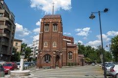 BUCAREST, ROUMANIE - 21 juin : Église Anglicane le 21 juin 2013 je Images stock