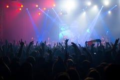 BUCAREST, ROUMANIE - 30 NOVEMBRE 2014 : Concert de Subcarpati pour R Photographie stock