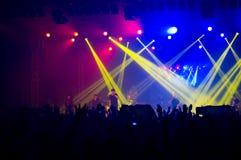BUCAREST, ROUMANIE - 30 NOVEMBRE 2014 : Concert de Subcarpati pour R Photographie stock libre de droits