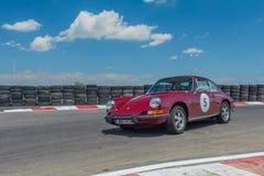 Bucarest, Rumania - 11 de julio de 2015: Retromobil Grand Prix 2015 Fotografía de archivo libre de regalías