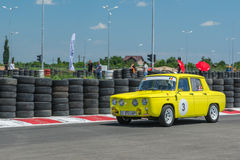 Bucarest, Rumania - 11 de julio de 2015: Retromobil Grand Prix 2015 Foto de archivo