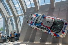 Bucarest, Rumania - 11 de julio de 2015: Retromobil Grand Prix 2015 Foto de archivo libre de regalías
