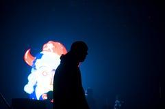 BUCAREST, RUMANIA - 30 DE NOVIEMBRE DE 2014: Concierto de Subcarpati para R Fotografía de archivo libre de regalías