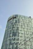 Bucarest un skyscrapper dans l'entendre parler Bucarest, Photo libre de droits