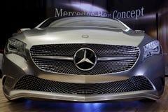 BUCARESTE - ABRIL 8: Conceito novo da Um-Classe, Mercedes Foto de Stock