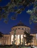 Bucareste, Atheneum romeno Foto de Stock