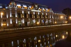 Bucareste em a noite Imagens de Stock