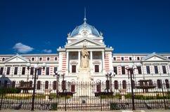Bucareste - hospital velho de Coltea imagem de stock