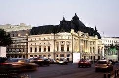 Bucareste na noite imagens de stock royalty free