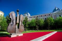 Bucareste - parque de Coltea imagem de stock royalty free