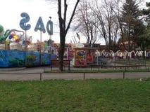 Bucareste, pouca cidade das crianças imagem de stock