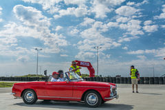 Bucareste, Romênia - 11 de julho de 2015: Retromobil Prix grande 2015 Fotografia de Stock