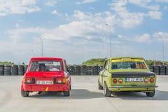 Bucareste, Romênia - 11 de julho de 2015: Retromobil Prix grande 2015 Imagens de Stock