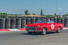 Bucareste, Romênia - 11 de julho de 2015: Retromobil Prix grande 2015 Fotos de Stock