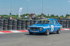 Bucareste, Romênia - 11 de julho de 2015: Retromobil Prix grande 2015 Foto de Stock