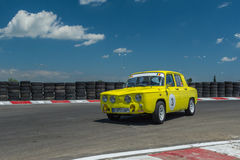 Bucareste, Romênia - 11 de julho de 2015: Retromobil Prix grande 2015 Foto de Stock Royalty Free