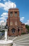 BUCARESTE, ROMÊNIA - 21 de junho: Igreja anglicana o 21 de junho de 2013 mim Fotografia de Stock