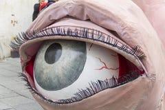Bucareste, Romênia - 30 de maio de 2014: Mostra de fantoches do corpo dos executores de Austrália imagens de stock royalty free