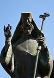 Bucareste, Romênia: Detalhe de estátua de St Antim Imagens de Stock Royalty Free