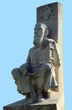 Bucareste, Romênia: Estátua de Serban Cantacuzino Foto de Stock Royalty Free
