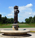 Bucareste, Romênia: Fonte de Modura no parque de Herastrau Fotografia de Stock Royalty Free