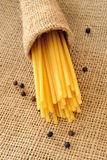 Bucatini pasta Royalty Free Stock Image
