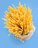 Bucatini raw pasta. Stock Image