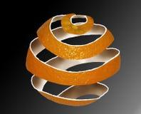 Buccia d'arancia Fotografia Stock