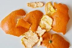 Buccia del mandarino Immagini Stock Libere da Diritti