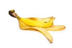 Buccia della banana Immagini Stock