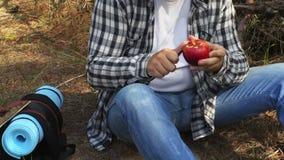 Buccia della viandante della mela