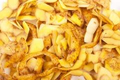 Buccia di patata immagini stock