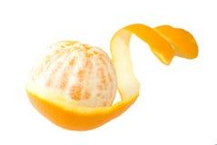 Buccia di un arancio Immagine Stock