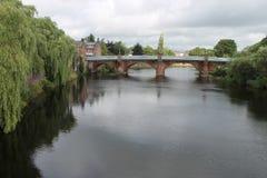 Buccleuch ulicy most, Dumfries Szkocja UK zdjęcie stock