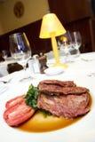 Bucco van Osso bij restaurant stock fotografie