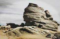 Bucegi山狮身人面象  库存照片