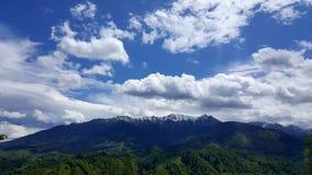 bucegi山罗马尼亚 免版税图库摄影
