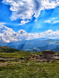 Bucegi山高原 库存图片