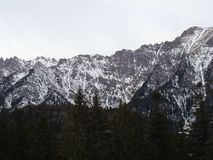 Bucegi山-罗马尼亚 库存图片