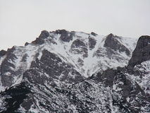 Bucegi山-罗马尼亚 免版税库存图片
