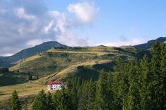 Bucegi山 免版税库存照片