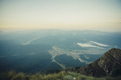 Bucegi berg Arkivfoton