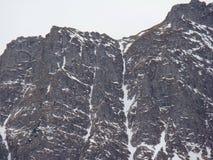 Bucegi berg - Rumänien Arkivbilder