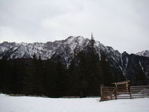 Bucegi berg - Rumänien Fotografering för Bildbyråer