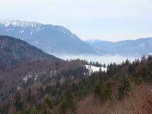 Bucegi berg - Rumänien Arkivfoto
