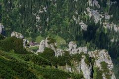 Bucegi Berge Stockfoto