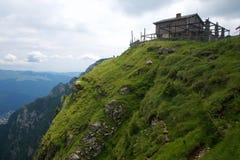 Bucegi budy Halna panorama Carpathians w Rumunia zdjęcie stock