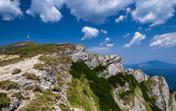 Bucegi, Carpathian Mountains in Romania Stock Photo